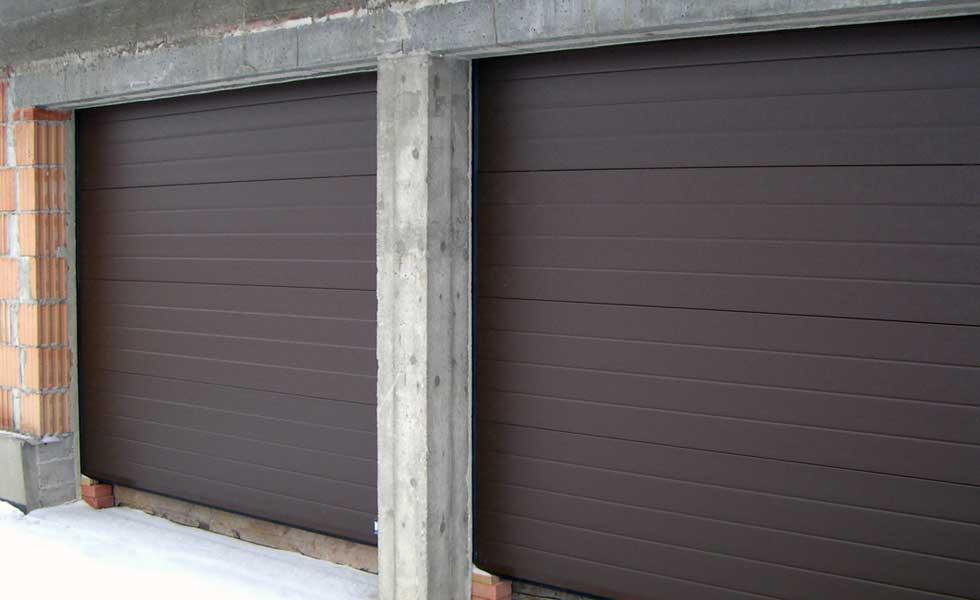 Brama do garażu dwustanowiskowego